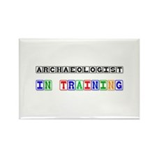 Archaeologist In Training Rectangle Magnet