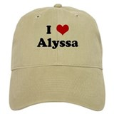 I Love Alyssa Cap