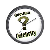 Question Celebrity 1 Wall Clock