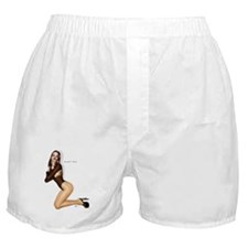 Somethin' Stupid white Boxer Shorts