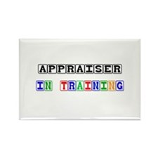 Appraiser In Training Rectangle Magnet (10 pack)
