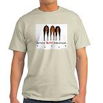Nothin' Butt Dobermans Ash Grey T-Shirt