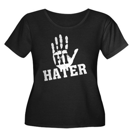 Hi Hater Plus Size Scoop Neck Shirt