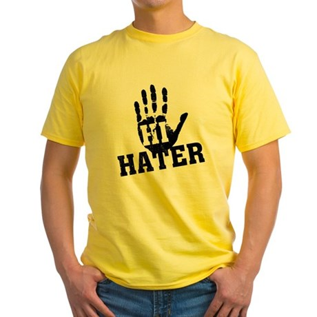 Hi Hater Yellow T-Shirt