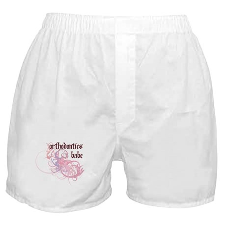 Orthodontics Babe Boxer Shorts