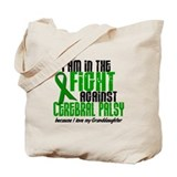 In The Fight Against CP 1 (Granddaughter) Tote Bag