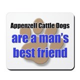 Appenzell Cattle Dogs man's best friend Mousepad