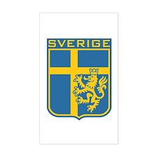 Sverige Rectangle Stickers