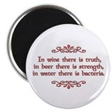 "German Proverb 2.25"" Magnet (100 pack)"