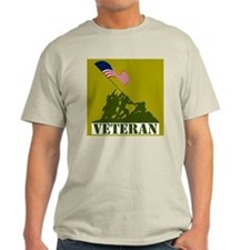 Veteran Ash Grey T-Shirt