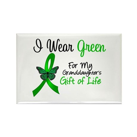 Organ Donor Granddaughter Rectangle Magnet