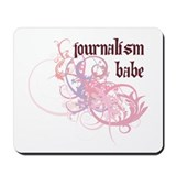 Journalism Babe Mousepad