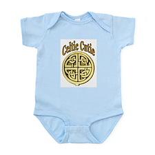 Celtic Cutie Kids Clothes Infant Creeper