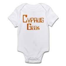 Cyprus Geek Infant Bodysuit