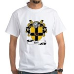 Rait Family Crest White T-Shirt