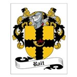 Rait Family Crest Small Poster