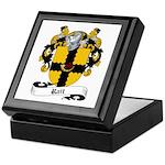 Rait Family Crest Keepsake Box