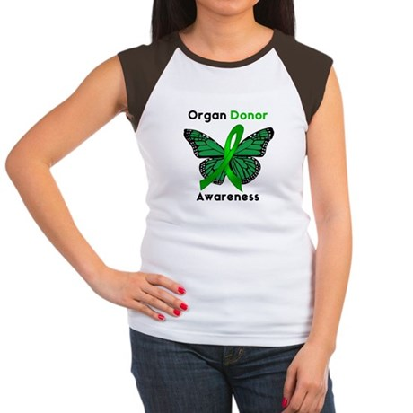 Organ Donation Women's Cap Sleeve T-Shirt