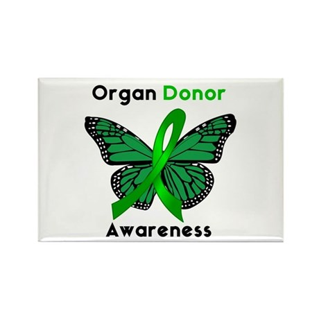 Organ Donation Rectangle Magnet
