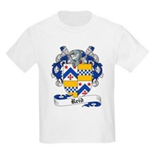Reid Family Crest Kids T-Shirt