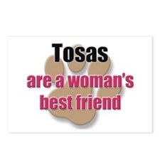 Tosas woman's best friend Postcards (Package of 8)