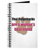 Thai Ridgebacks woman's best friend Journal