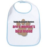 Teddy Roosevelt Terriers woman's best friend Bib