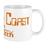 Ivory Coast Geek Small Mug