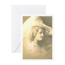 Ethereal Girl Greeting Card