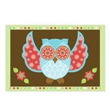 Bohemian Owl - Postcards (Package of 8)