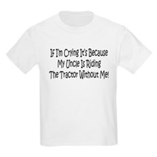 Ride My Uncles Tractor T-Shirt