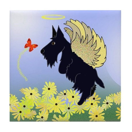 Seamus Angel Arooo Ceramic Tile Coaster