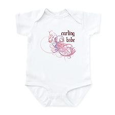 Curling Babe Infant Bodysuit