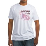 Cosmetology Babe Fitted T-Shirt