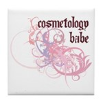 Cosmetology Babe Tile Coaster