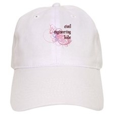 Civil Engineering Babe Baseball Cap