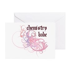Chemistry Babe Greeting Cards (Pk of 10)