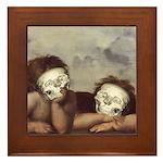Raphael's Cherubs Framed Tile