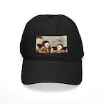 Raphael's Cherubs Black Cap