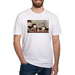 Raphael's Cherubs Fitted T-Shirt