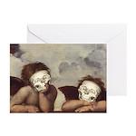 Raphael's Cherubs Greeting Cards (Pk of 20)