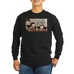 Raphael's Cherubs Long Sleeve Dark T-Shirt