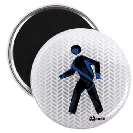 Graphic Crosswalk Person Magnet