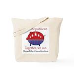 Shredder Pig Tote Bag