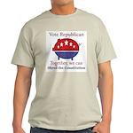 Shredder Pig Light T-Shirt