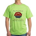 Shredder Pig Green T-Shirt