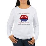 Shredder Pig Women's Long Sleeve T-Shirt