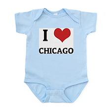 I Love Chicago Infant Creeper