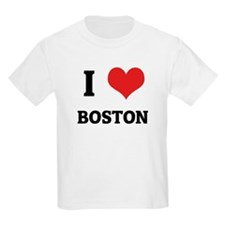 I Love Boston Kids T-Shirt