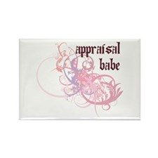 Appraisal Babe Rectangle Magnet (10 pack)